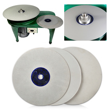 LETAOSK High Quality 6 Lapidary Grinding Polishing Wheel Disk Grit 500/1200/3000 Diamond Coated Flat Lap Tool