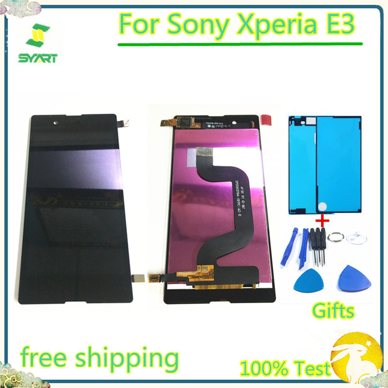 <font><b>4.5</b></font> <font><b>inch</b></font> 100% Tested <font><b>LCD</b></font> Display <font><b>Touch</b></font> Screen Digitizer Assembly Without Frame Replacement Part For Sony Xperia E3 image