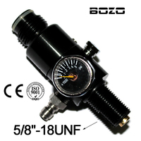 co2 cylinder shooting paintball 4500PSI Air Tank Regulator Output Pressure 800PSI 5/8