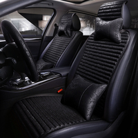 Linen Car Seat Cover Spring And Summer New Universal Automobiles Covers For Car Seat Cushion