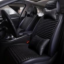 linen Car Seat