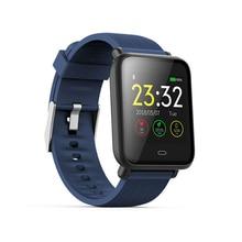 Смарт-часы Q9 крови Давление сердечного ритма браслет с монитором сна IP67 Водонепроницаемый Спорт Фитнес Trakcer часы Для мужчин женские умные часы