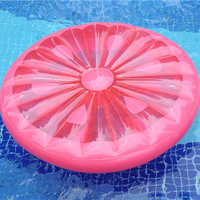 1.8m pink Inflatable lemon Pool Floating Air Mattress Beach fruit Swimming Toy party holiday summer pool pads water float