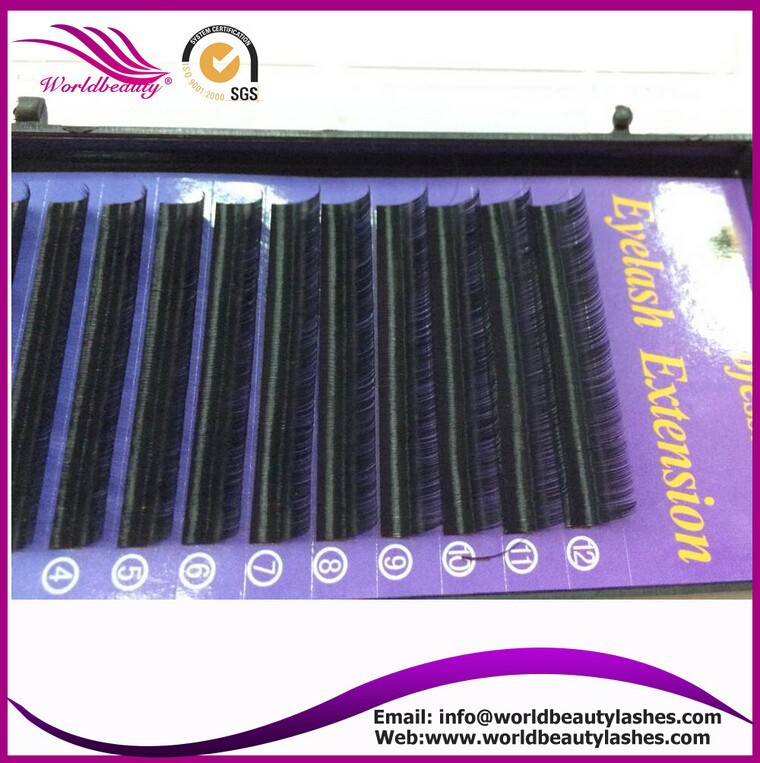 все цены на Top selling! All Size 0.07mm J B C D Curl professional Individual Eyelashes Extension one tray per lot