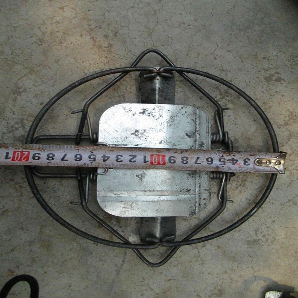 Diametru de înaltă calitate 200MM 7.3 inch Capcană pentru animale mistreț Iepure Vole Fox Coyote Muskrat Fisher Mink transport gratuit