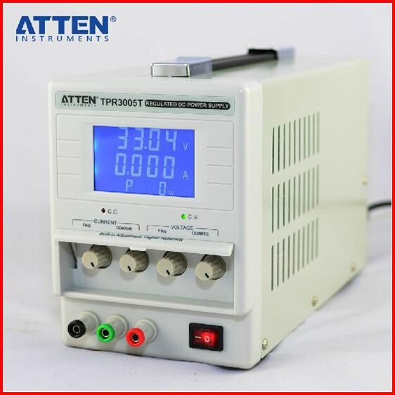 ATTEN TPR3005T adjustable power supply power supply Regulated DC power supply Variable 0-30V / 0-5A ps1305 dc regulated variable power supply 30v 5a 4 digital lcd display