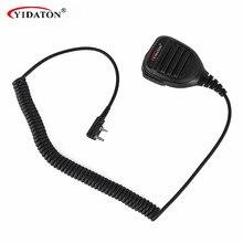 Водонепроникний динамічний мікрофон для Kenwood 2-канальний радіоприймач TK2100 TK3100 TK2107 TK3107 TK240 TK248 TK250 TK260 TK260G TK-270G TK308