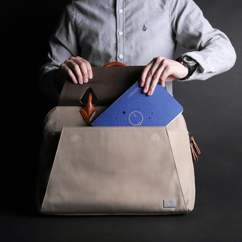 Prix pour D-parc 15 pouce portable sac à main housse d'ordinateur portable case épaule messenger sacs pour ordinateur portable pour apple macbook pro cas