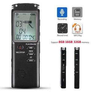 Image 2 - 8 ギガバイト 16 ギガバイト 32 ギガバイト音声レコーダー USB プロ 96 時間ディクタフォン VAR デジタルオーディオボイスレコーダー/ VOR 内蔵マイク