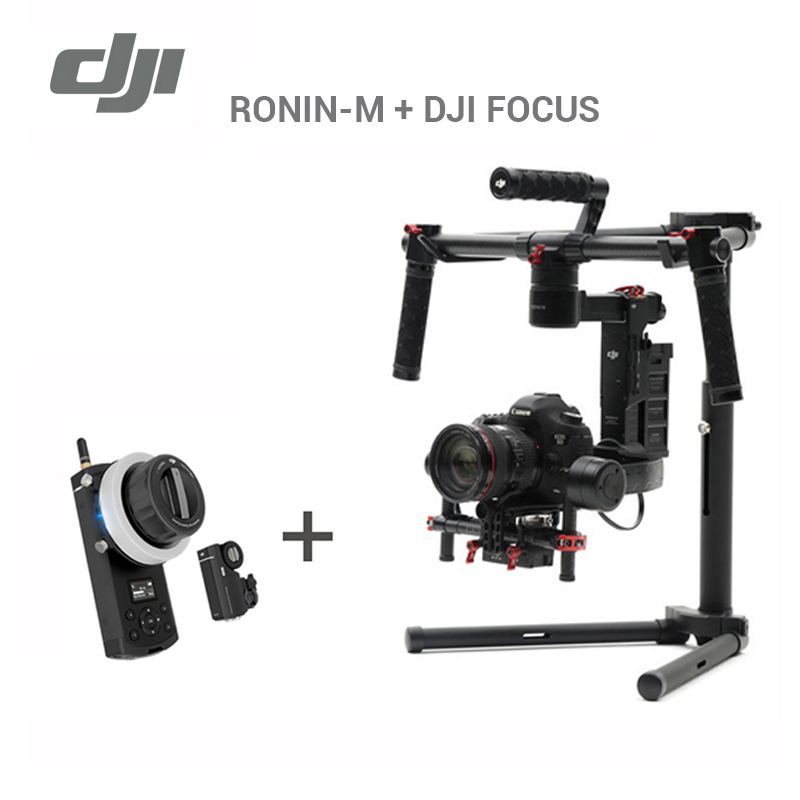 DJI Ronin-M With DJI Focus Balanced Handheld 3-axies Gimbal For Camera(excludes Camera) Brand New Ronin M