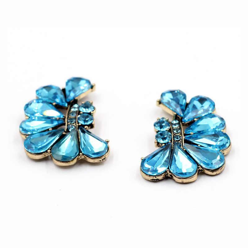Juran Baru 2019 Desain Fashion Anting-Anting Wanita Anting-Penuh Kristal Vintage Pernyataan Anting-Anting untuk Wanita Perhiasan Pabrik Harga C2305