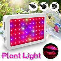 1000W LED Grow Light Full Spectrum LED Plant Flower Grow Lamp For Indoor Greenhouse 6000lm AC85 265V 60LED Plant Growing Lamp