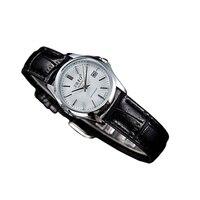 Ladies Quartz Coffee Black Leather Watch Elegan Automatic Women Waterproof Wristwatch Top Quality Woman Datejust Clock