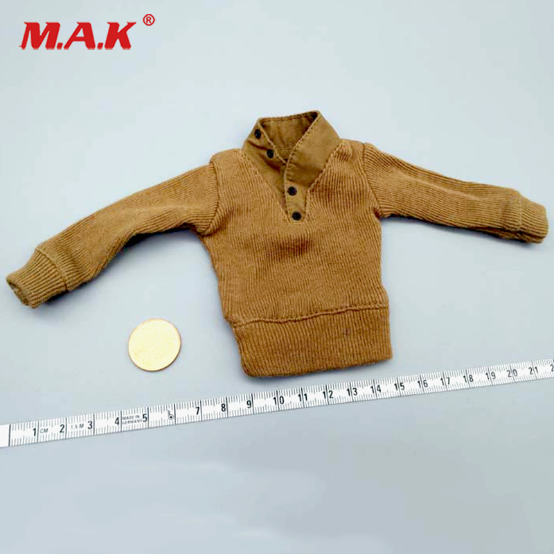 Dragon 1/6 Scale WWII US Army Yellow Sweater Jacket Coat Clothes Clothing ModelsDragon 1/6 Scale WWII US Army Yellow Sweater Jacket Coat Clothes Clothing Models