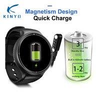4 г Зеленый Смарт часы 1 г + 16 г 1,39 ''620 мАч quick charge мониторинга сердечного ритма наручные часы с GPS WIFI UI smartwatch мульти циферблаты