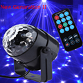 New genaration LED Crystal Magic Ball 3W Mini RGB Stage Lighting Effect Lamp Bulb Party Disco Club DJ Light Show US/EU Plug