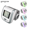 Tonometer Automatic Wrist Digital Blood Pressure Monitor Digital lcd Sphgmomanometer Heart Beat Rate Pulse Meter 2016 New