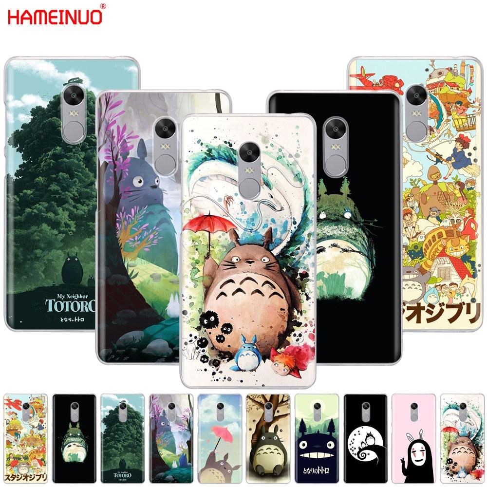 HAMEINUO My Neighbor Totoro Anime Cover phone  Case for Xiaomi redmi 5 4 1 1s 2 3 3s pro PLUS redmi note 4 4X 4A 5A