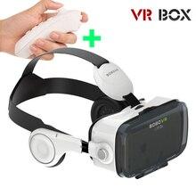 GZDL 4 Виртуальной Реальности Видео Фильм Игры Очки 3D Очки VR КОРОБКА Гарнитура С Наушниками Для 4.0-6.0 Дюймов IOS Android DVR8680