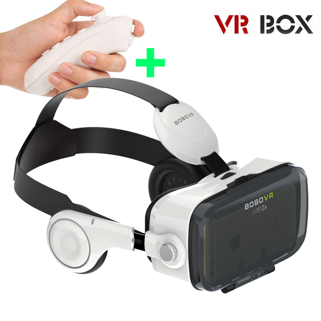 Z4 Virtual Reality Video Movie Game Goggles 3D Glasses VR BOX Headset With Headphone For 4.0-6.0 Inch Android iPhone  DVR8680