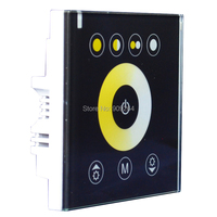 Free Shipping Led Color Touch On Off Switch Signle Color Controller Led Color Adjuster Touching Switch