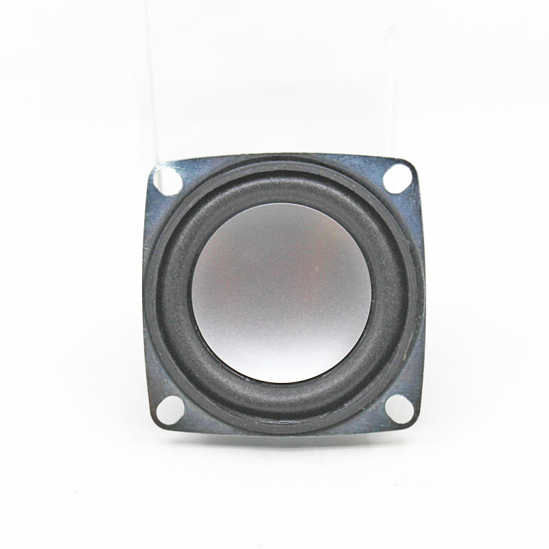 2pcs 4 Ohm 3W Loudspeaker 53MM Square Speaker 36MM External Magnetic Foam Edge Silvery Cap in Acoustic Components from Electronic Components Supplies