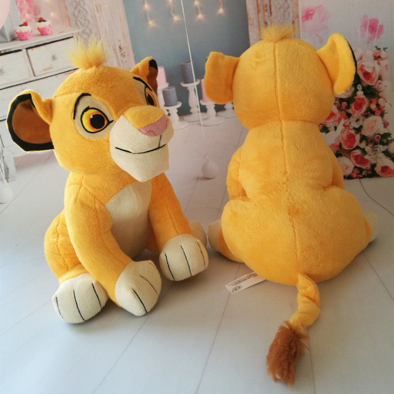 26cm The Lion King Plush Toys  Simba Soft Stuffed Animals Doll Kids Summer Gifts