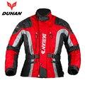 Duhan motocross jinete engranaje moto a prueba de frío chaqueta de paño de oxford street bike racing chaqueta de la motocicleta ropa de los hombres