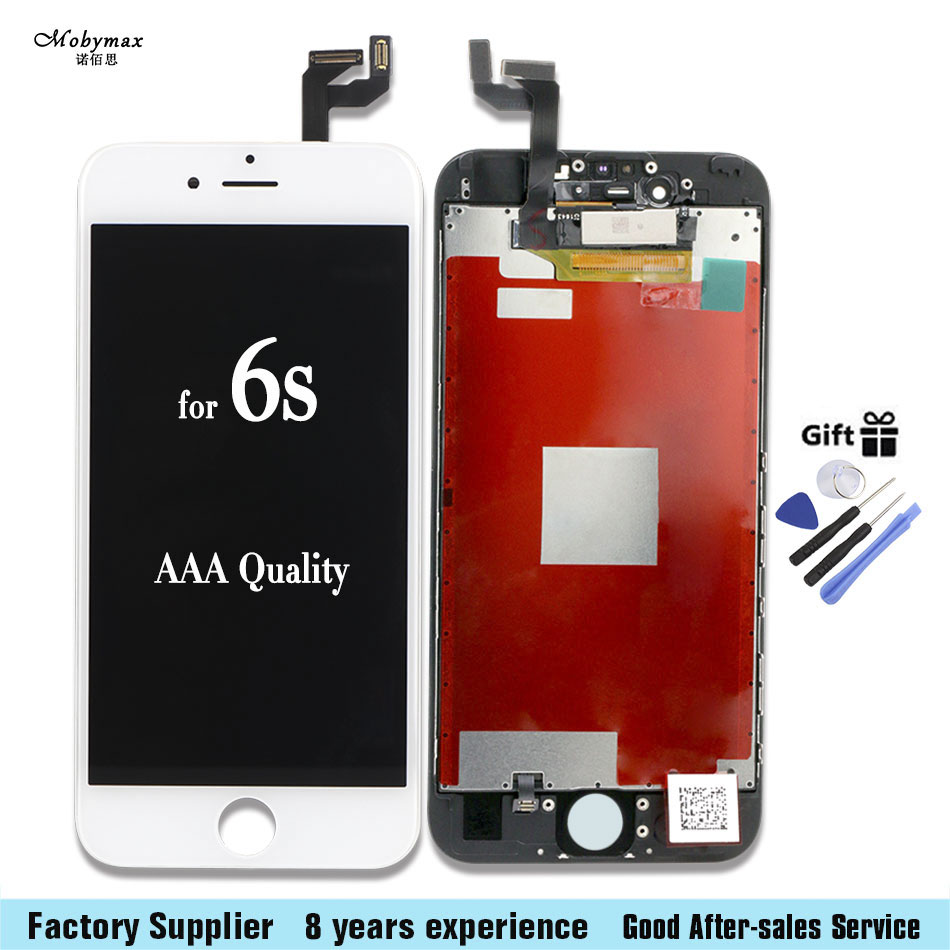 LCD Screen Touch Screen Digitizer Assembly Repair for iPhone 6S 4.7 lcd display + Kit Tool
