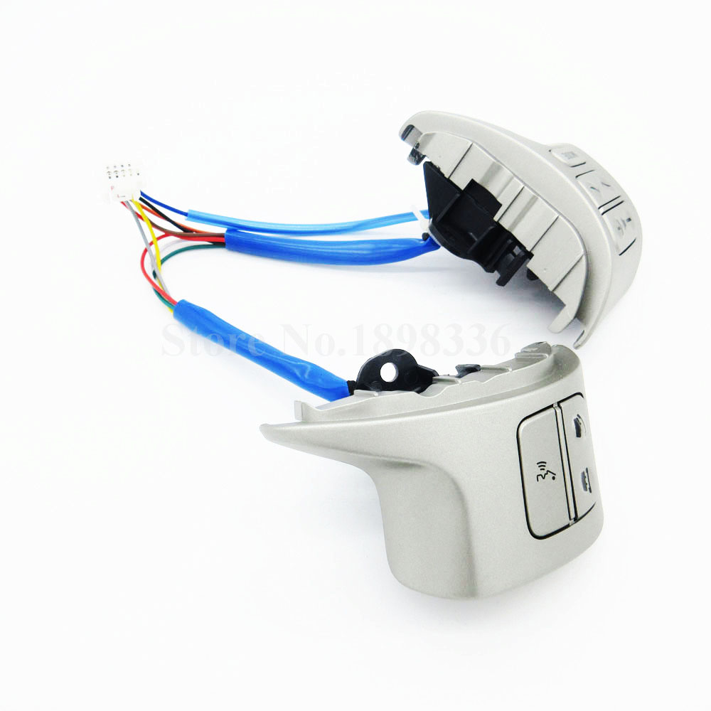Bluetooth Steering Wheel Audio Control Switch 84250-02200 For Toyota Corolla ZRE15 2007 ~2010 цена