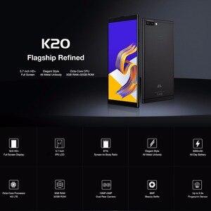 """Image 2 - KXD EL K20 Android 8.1 Del Telefono Mobile 5.7 """"HD MTK6750 Octa Core 3GB di RAM 32GB di ROM Per Smartphone 13MP + 5MP Posteriore 4G LTE Sblocco Del Cellulare"""