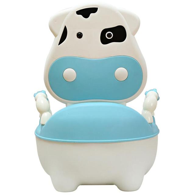 Ergonomia Cadeira Assento Do Bebê Portátil Assento Do Vaso Sanitário Para Crianças Vaca Crianças Mictório Crianças Potty do Treinamento De Alta Qualidade Com Gaveta
