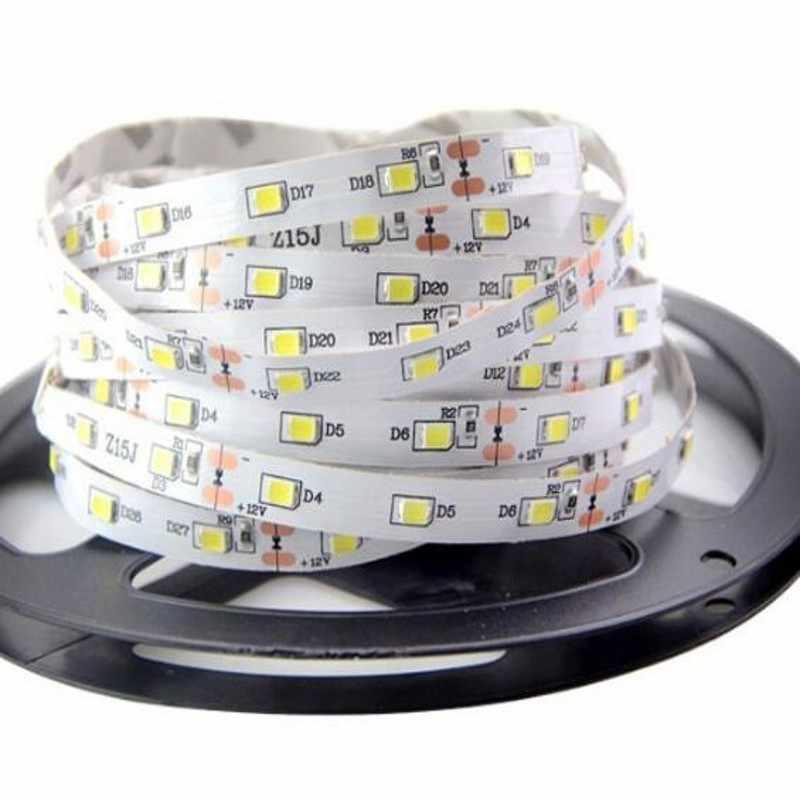 Светодиодные ленты не Водонепроницаемый 5 м SMD 5050 2835 3528 Светодиодный свет Stirp DC 12 В Гибкая 300 светодиодный s на Рождество домашние освещения