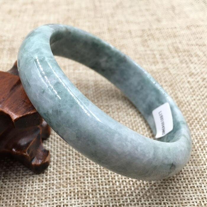Лидер продаж >@@ 62 мм сертифицированных Класс зеленый натуральные камни камень браслет 043462 новый топ качество Бесплатная доставка
