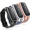 Luxury Smart Band Watch M6 with Detachable bluetooth Headset Sports Pedometer Sleep monitor Bracelet for Android/IOS SmartPhones