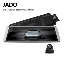 JADO D800s X3 Stream Rearview Mirror  LDWS GPS Track 10 IPS Touch Screen Full HD 1080P Car Dvrs  Dash cam jado d800s x6 stream rearview mirror ldws gps track 10 ips touch screen full hd 1080p car dvrs dash cam