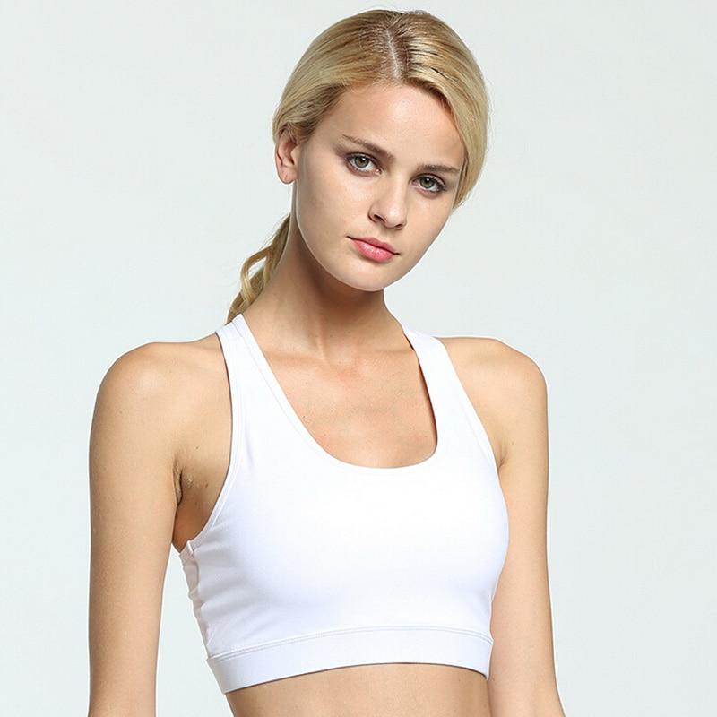 Womens Sports Bras Running Yoga Pants Dance Gym Tank Tops: Women Sports Bra Yoga Running Gym Fitness Workout Jogging