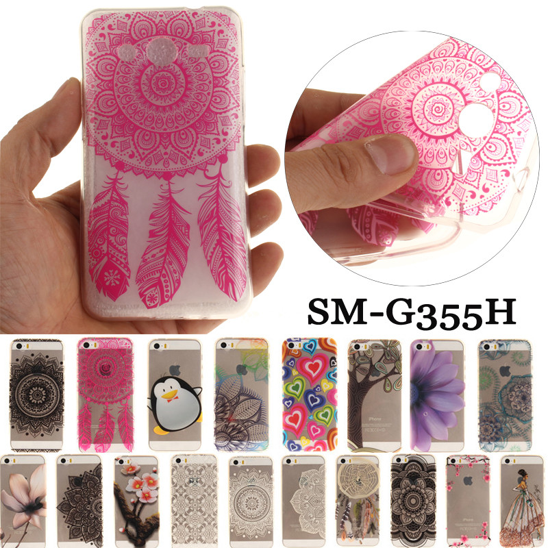 Teléfono de lujo case sfor samsung galaxy samsung galaxy core 2 Dous SM-G355H G3