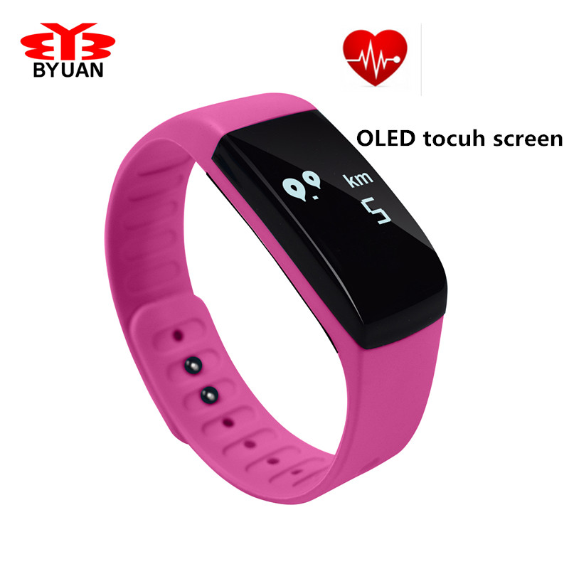 New Bluetooth Heart Rate Monitor Smartband font b Smart b font Sport font b Watch b