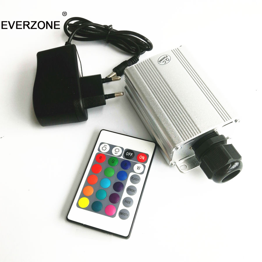 Exqusite 5w IR LED Fiber Optic Light Projector For Small Area Decoration