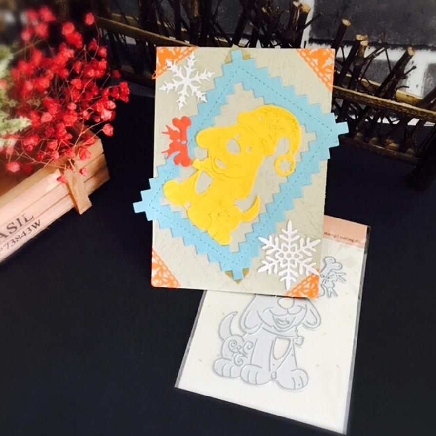 Cutting Dies 2017 My House Christmas Metal Stencils Silver Dies Scrapbooking Metal DIY Card Craft Paper Decor 17OCT10
