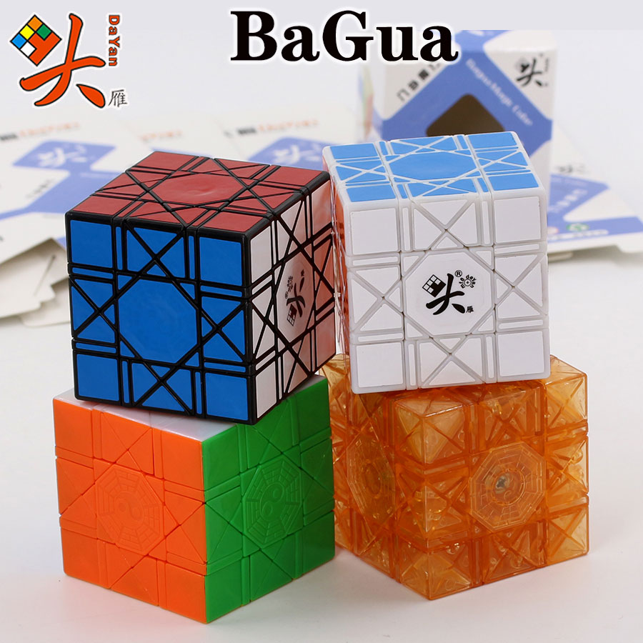 Magic Cube puzzle DaYan BaGua 6 axis 8 rank cube strange shape professional speed educational cube