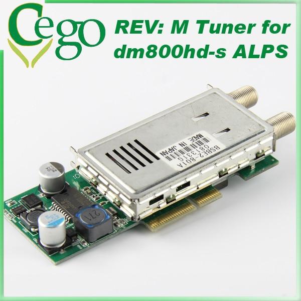 DVB S Satellite TV Tuner Rev M Tuner for Dreambox DM800HD