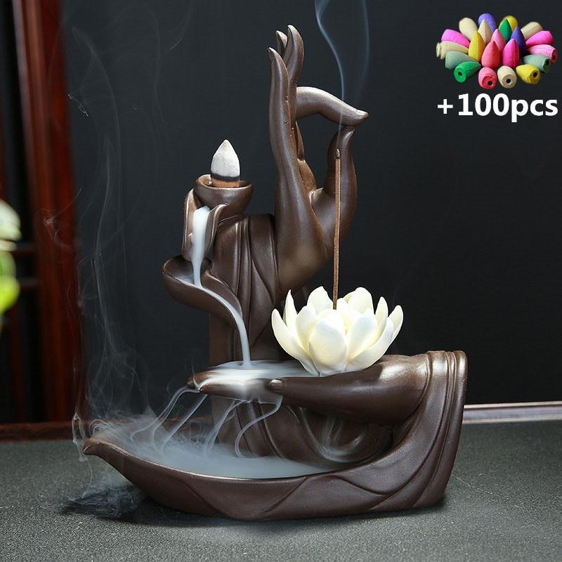Peaceful Hands Incense Burner