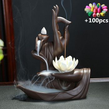 Peaceful Hands Incense Burner