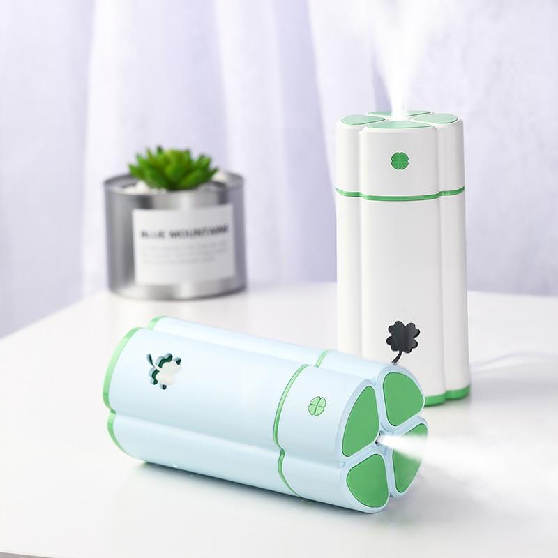 ALDXY100-Q77,New clover night light humidifier, large capacity USB mini car office desktop air humidifier цены