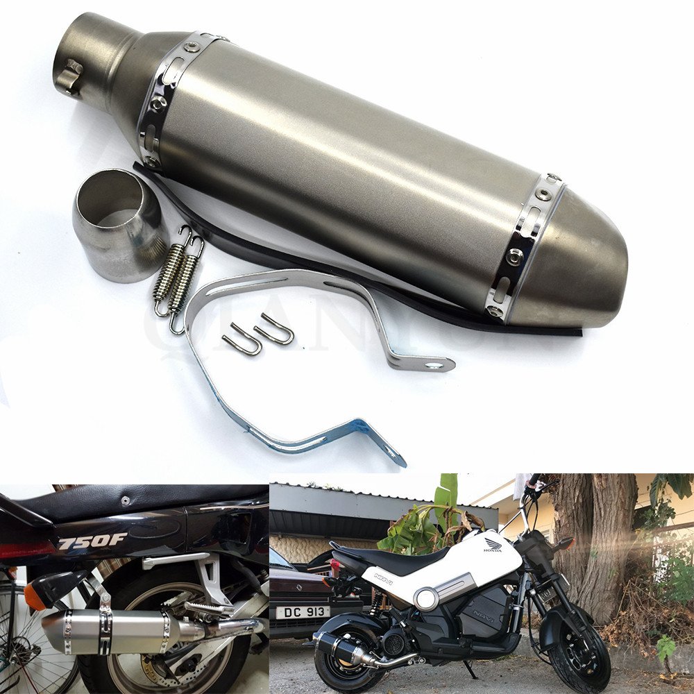 for Motorcycle parts Exhaust Universal 51mm Stainless Steel Motorbike Exhaust Pipe For KTM DUKE 125/200/390 RC390 RC200for Motorcycle parts Exhaust Universal 51mm Stainless Steel Motorbike Exhaust Pipe For KTM DUKE 125/200/390 RC390 RC200