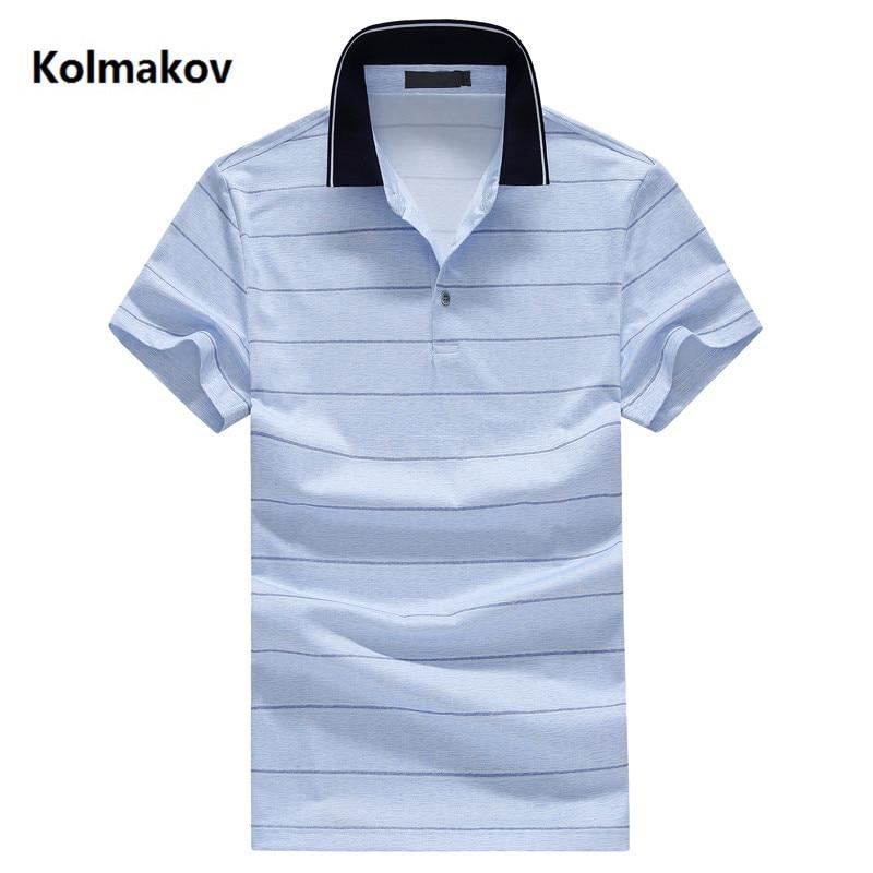 2019 summer Men's fashion Casual Business Classics   Polo   shirts Men's high quality stripe short sleeves   Polo   shirt men