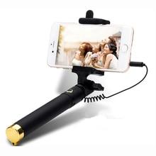 Универсальный Люкс мини Selfie Палка Монопод для Huawei Honor 7I 8 8 В 4X 5X 6X 4C Android Проводной Selfie Пало Радиальный Камеры пункт
