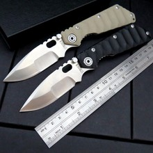 High Quality ST-2 Knives Tactical Survival Folding Pocket Knife Stonewashed 5Cr13MOV 56HRC Blade G10 Handle Camping hunting Tool